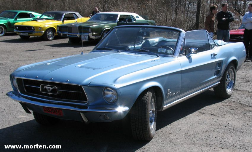 '67 Mustang Convertible – Light Blue — White Top — MY DREAM CAR ♥