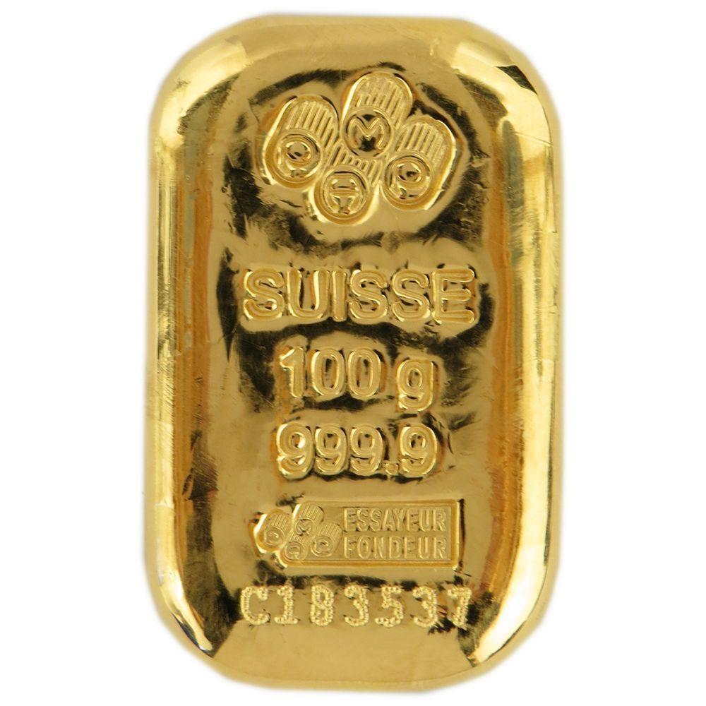 100 Gram Pamp Suisse 9999 Fine Gold Bar Cast Goldbars Gold Gold Bar Gold Bars For Sale The 100