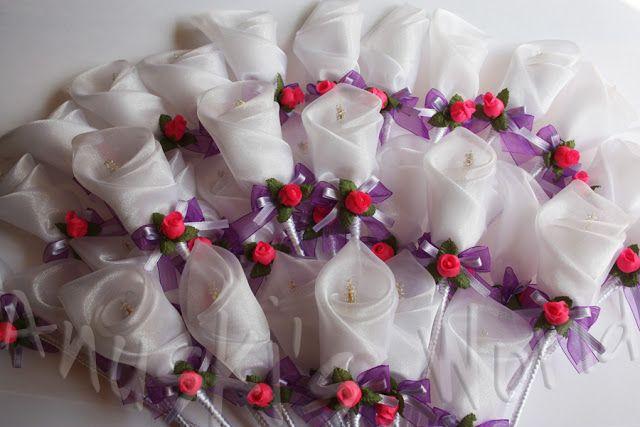 Flores para la ceremonia de la boda de Rita