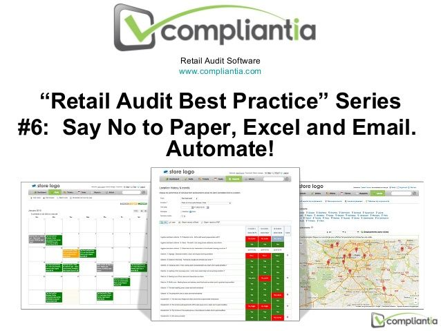 Retail Audit Software WwwCompliantiaCom Retail Audit Best