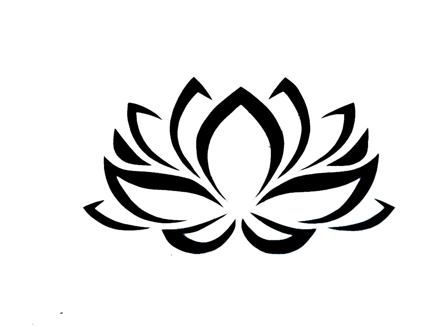 Lotus Stickers Flower Car Decal Ts For Women Flower