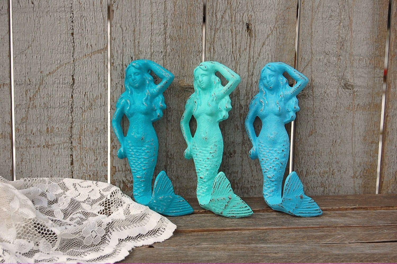 Photo of Beach decor mermaid hooks