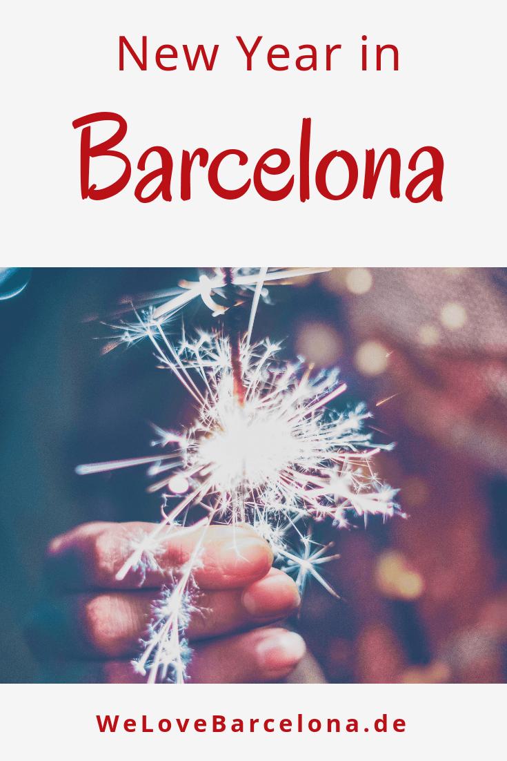Silvester in Barcelona: ♥ So feiert die Stadt ihre Silvesterpartys!