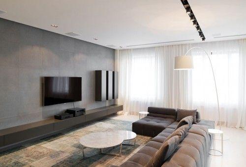 Toller Beige Blauer Vintage Patchwork Teppich super modern - blauer teppich wohnzimmer