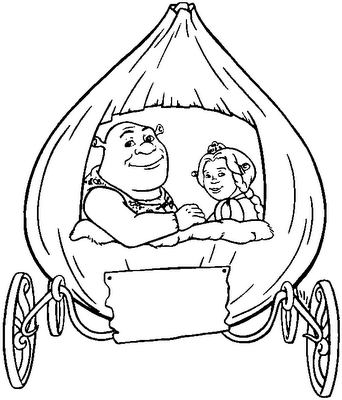 Interactive Magazine: PRINCESS FIONA COLORING PAGES | shrek ...