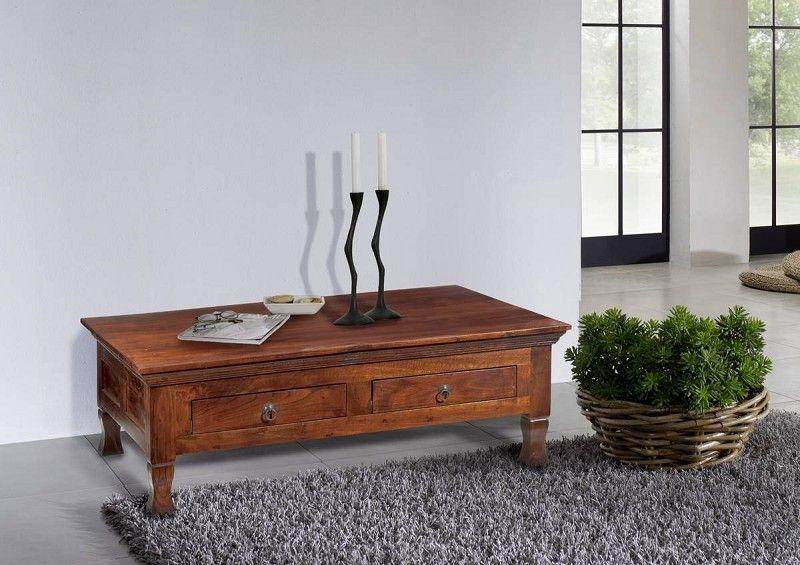 Wohnzimmerwand Massiv ~ Kolonialstil couchtisch 120x75 akazie massiv möbel oxford #445
