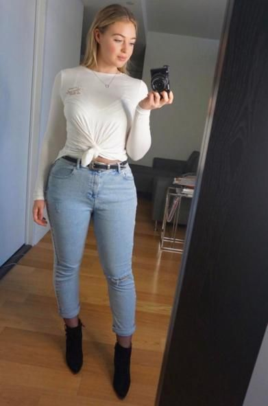 Iskra Lawrence Proves That You Don T Need To Be Skinny To Be Pretty Fashion Curvy Girl Outfits Iskra Lawrence Style