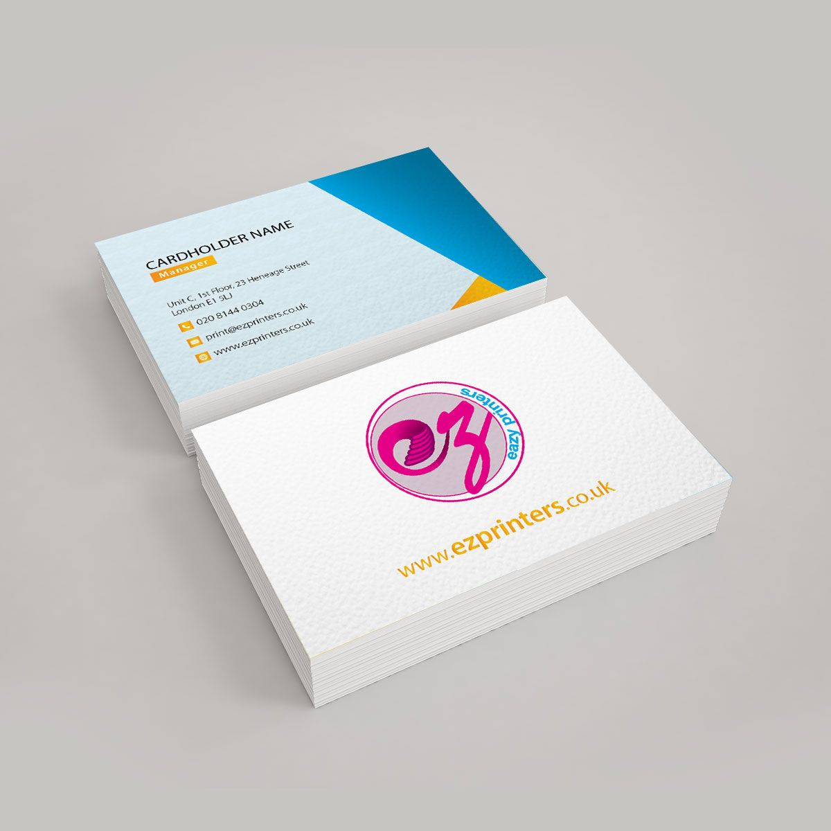 Standard Business Cards Printing London Ez Printers Printing Business Cards High Quality Business Cards Stylish Business Cards