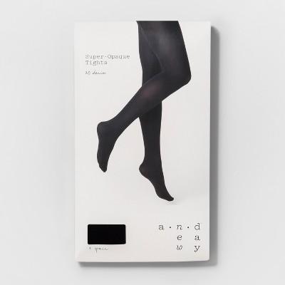 f714bd555ec Women s 80D Super Opaque - A New Day  Black S M  Super