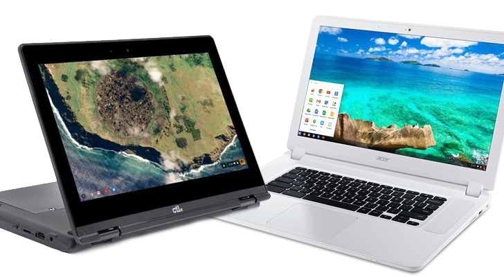 Acer Chromebook 15 (CB5571) and six other models get
