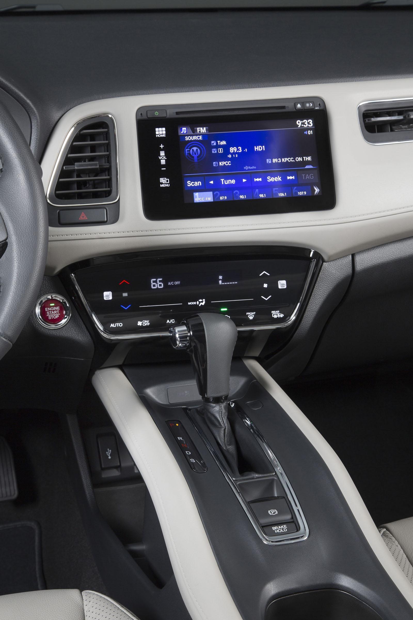 2016 Honda Hrv Interior