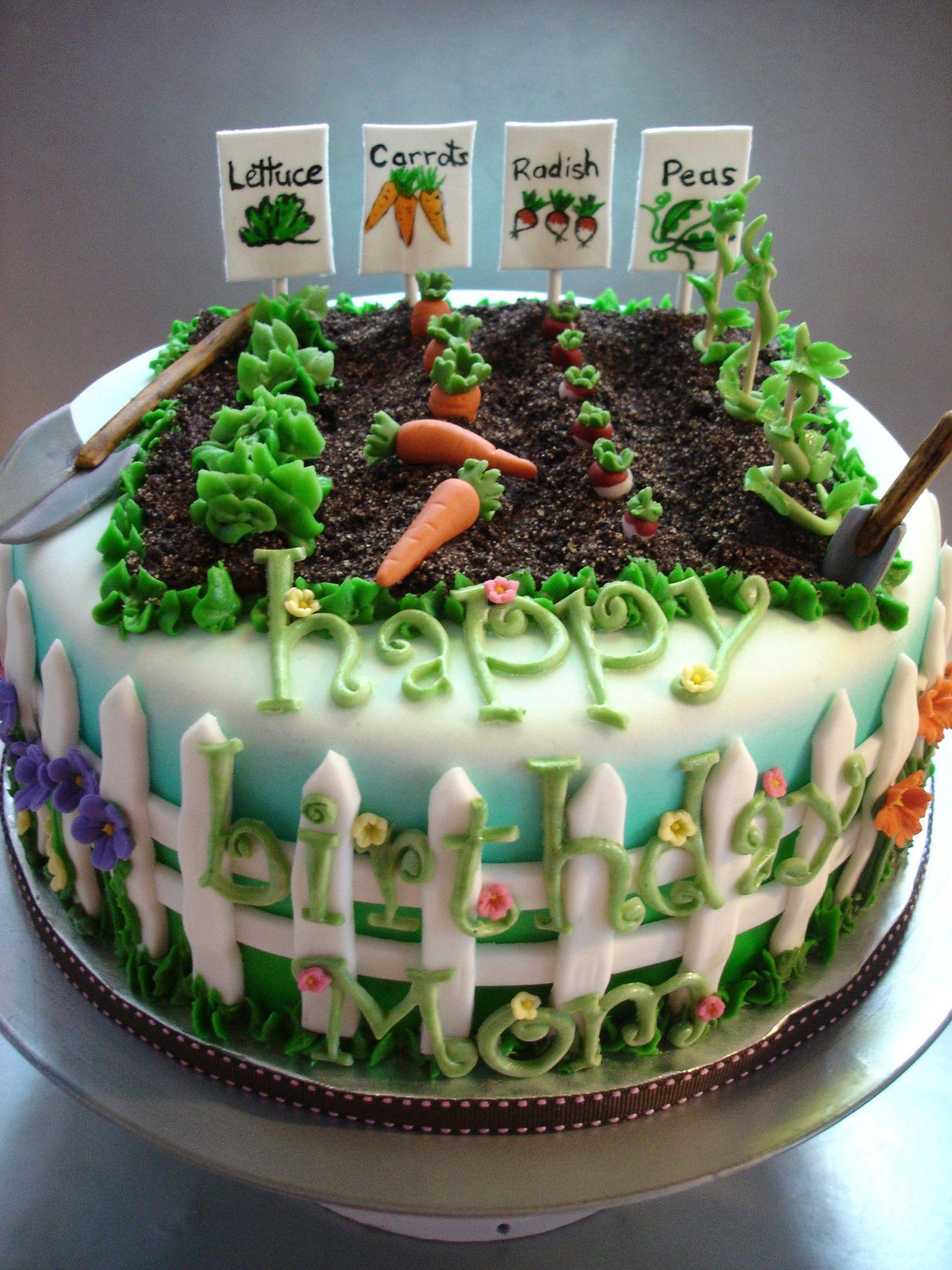 Green Thumb Cake Cakewalk Catering Cake Garden Cakes Novelty