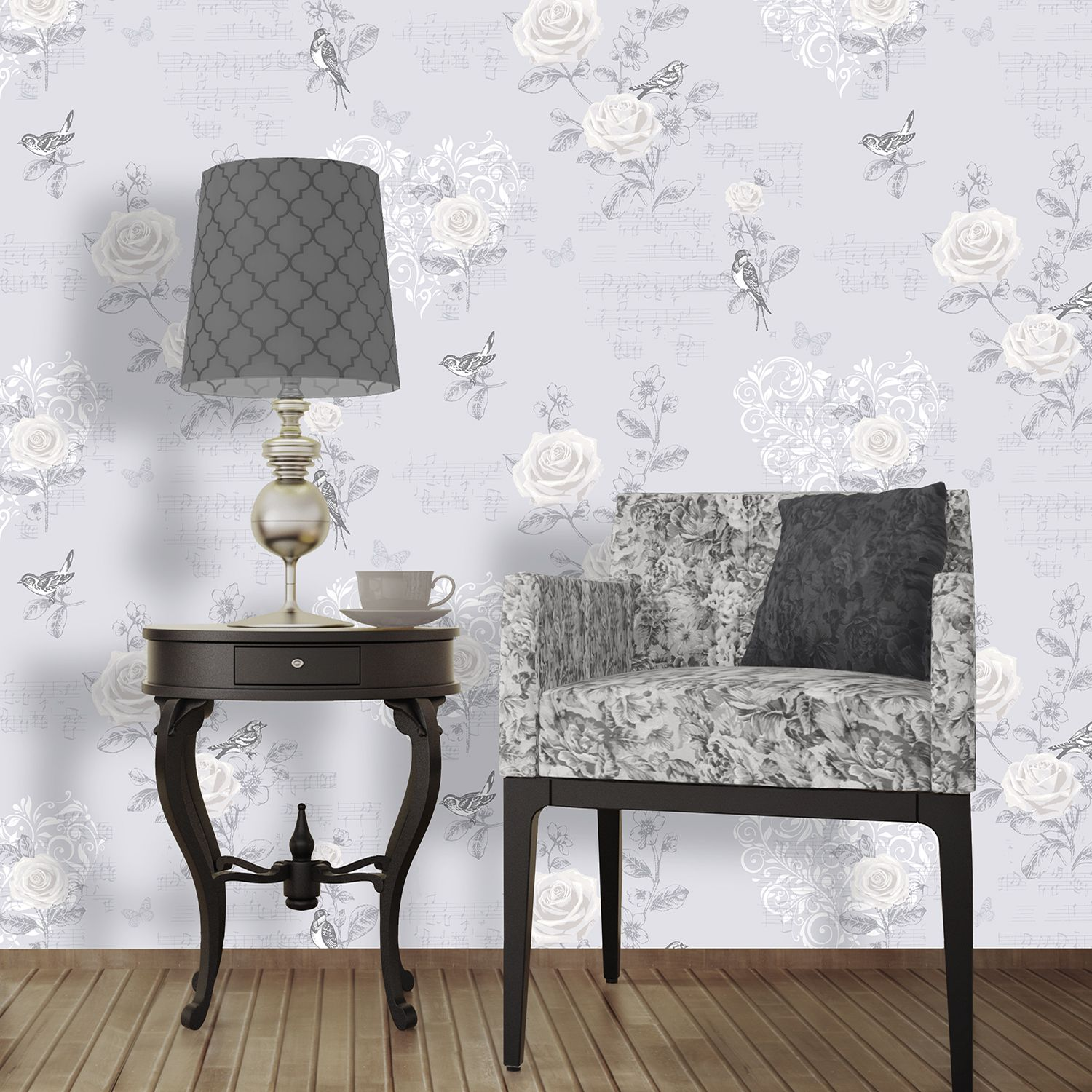Httpwwwtherangecoukcoloroll Jenny Wren French Grey Wallpaper The Rangefcp Product102909