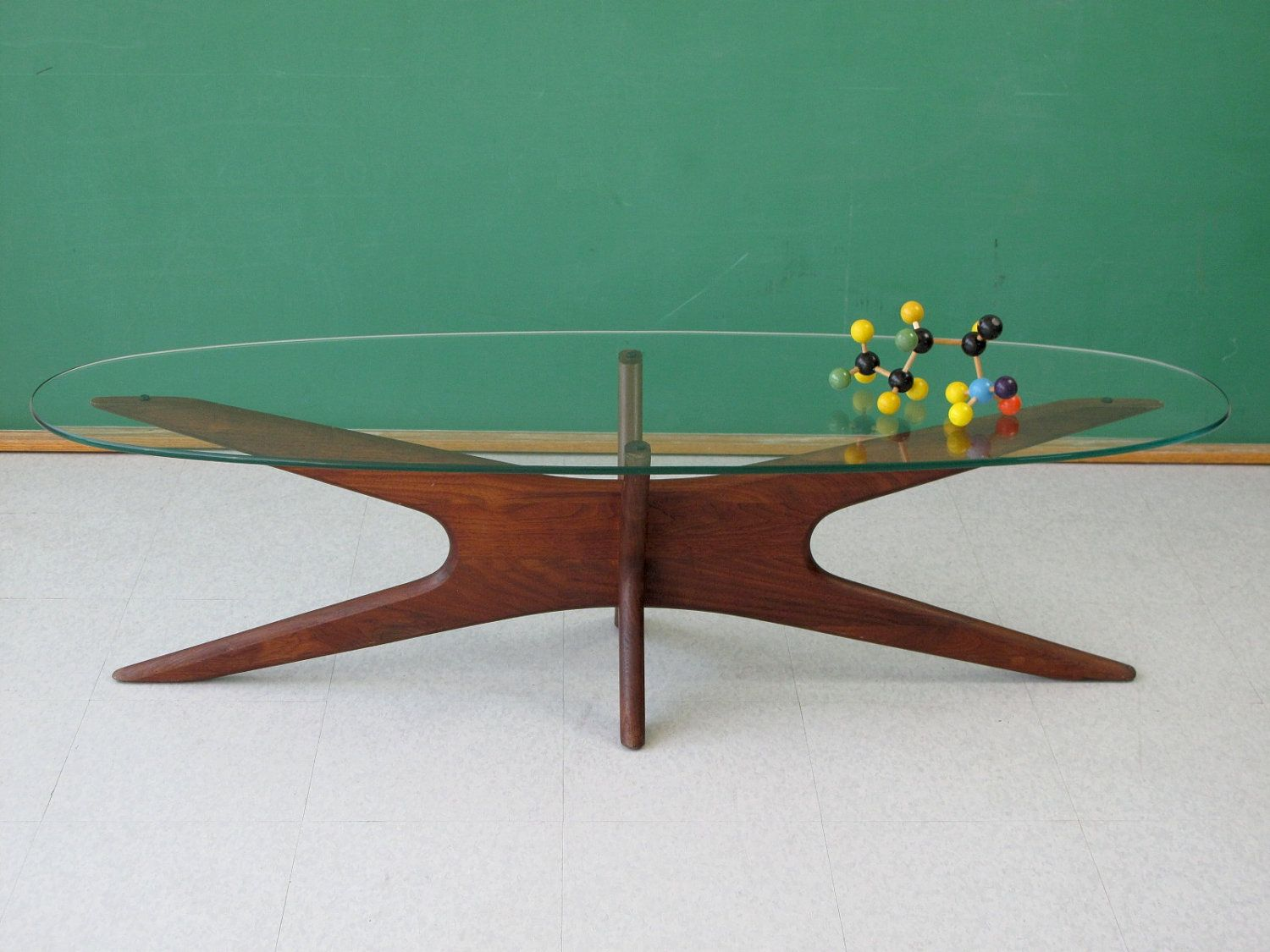 Vintage Adrian Pearsall Jacks Coffee Table For Craft Associates