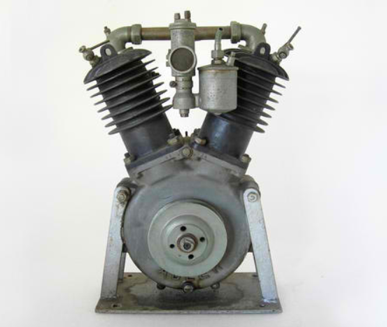 Adler Motorcycles (1900-1957) - V-Twin Motorcycle Engine