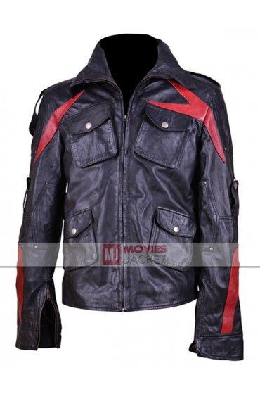 James Heller Game Prototype 2 Leather Jacket Leather Jacket Jackets Black Leather Jacket