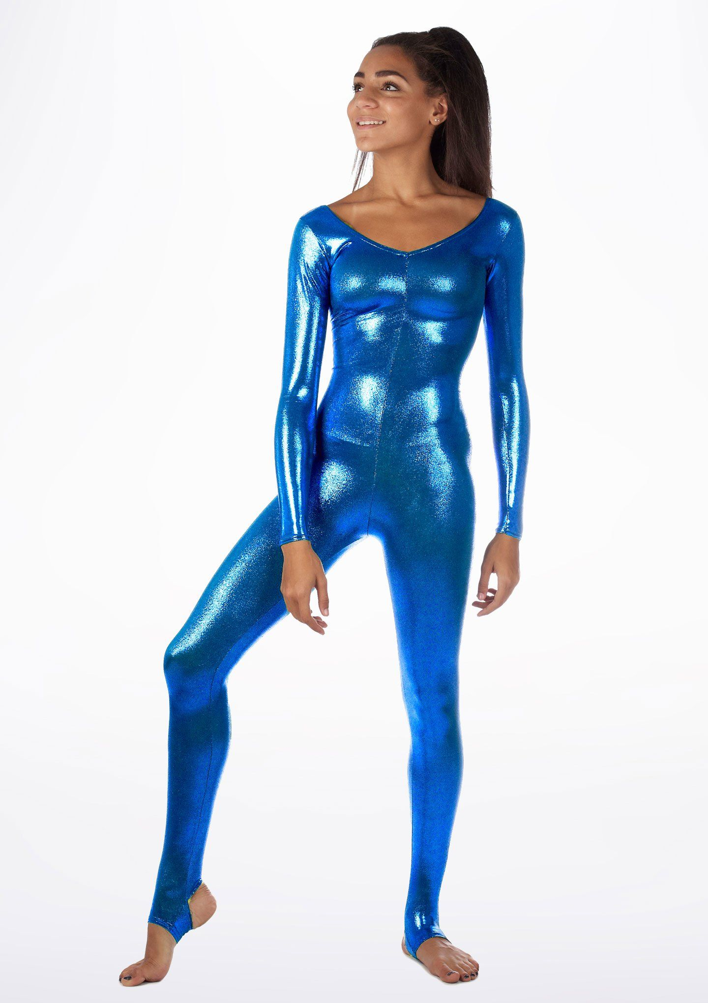 d2fa408c553dd4 Alegra Blaine Metallic Catsuit - Move Dancewear® Shiny Leggings, Tight  Leggings, Thigh High