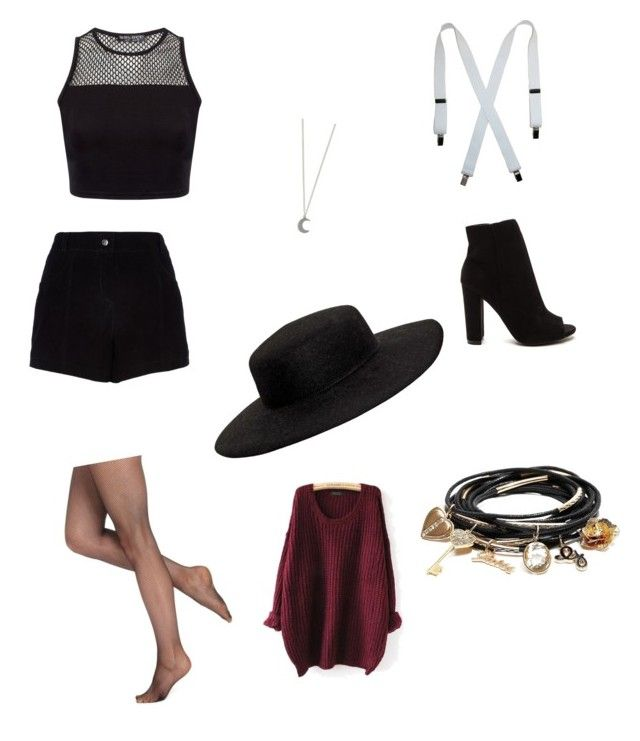 """IDK"" by briannaloves2012 on Polyvore featuring River Island, GUESS, Berkshire and VIVETTA"