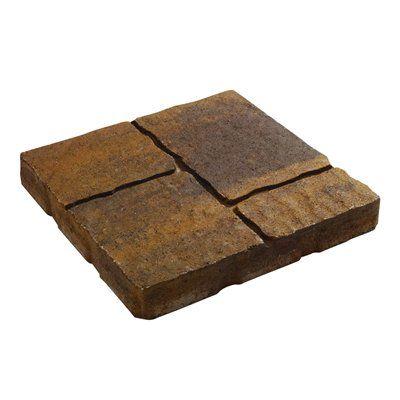 Decor 16-in Square Quadral Slab Patio Stone