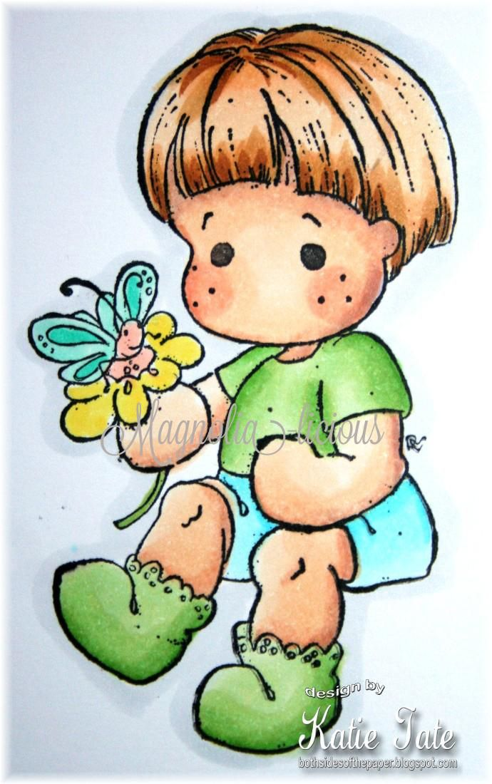 #128 Little cute Edwin | 2013 Special Moments by Collection | Stamps | Magnolia Stamps