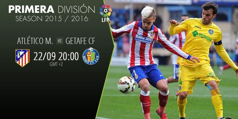 ATLETICO M vs GETAFE CF is live!!! Get the latest