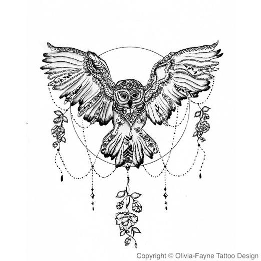 Olivia-Fayne Tattoo Design - EYE CANDY | mandala tattoo ...
