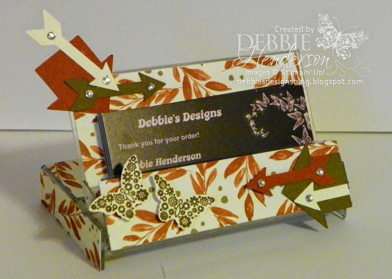 Cassette Tape Business Card Holder Handmade business