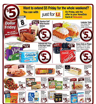 5 friday deals at vons stock up on coke cottonelle cheerios