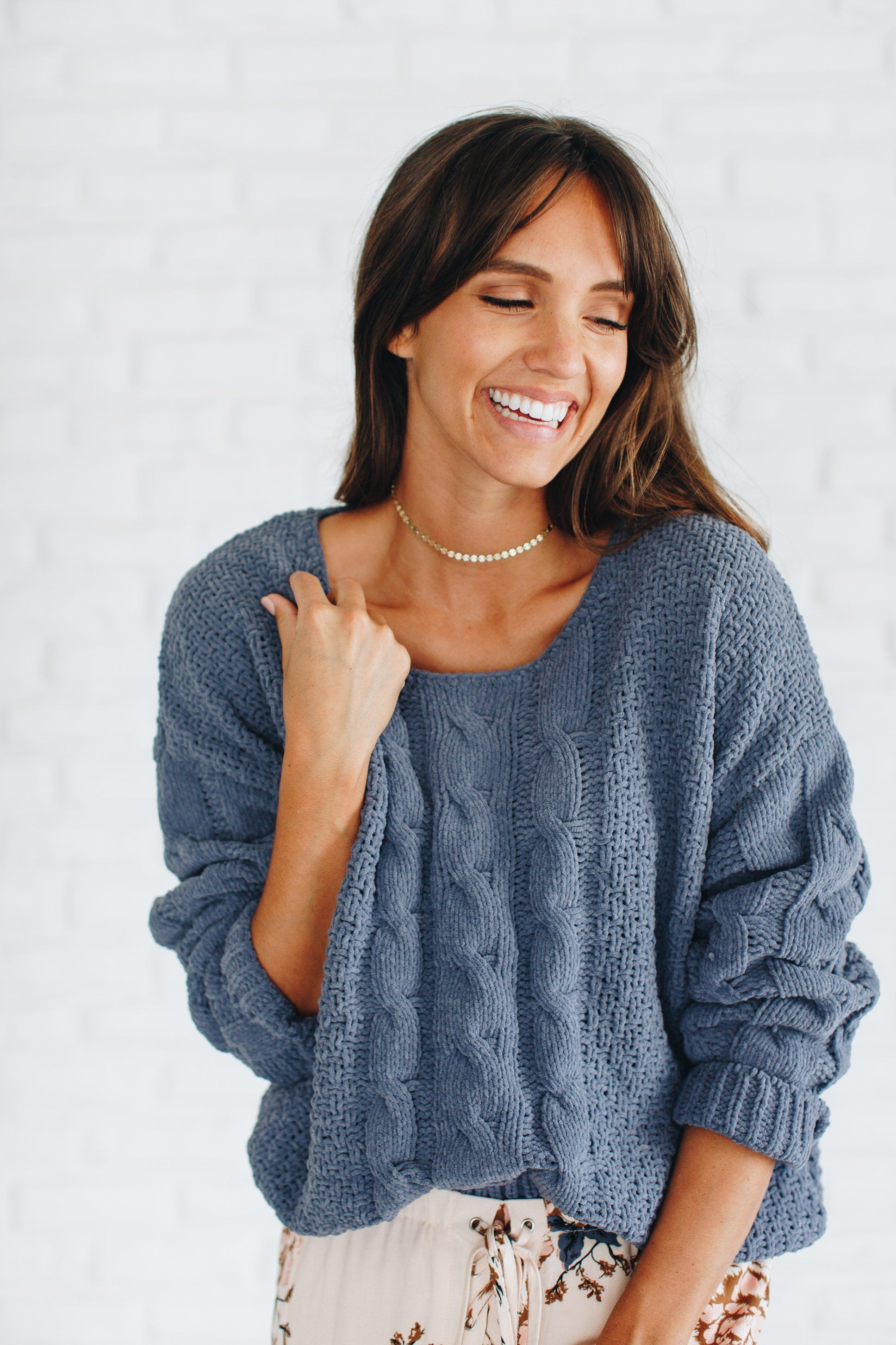 Blue Moon Sweater – Luca   Grae | style// | Pinterest | Blue moon ...