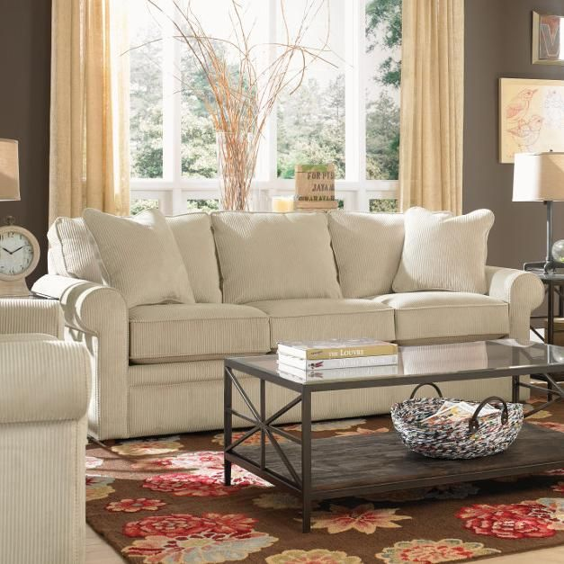 Collins Sofa by La-Z-Boy | Living Room | Leather living room ...