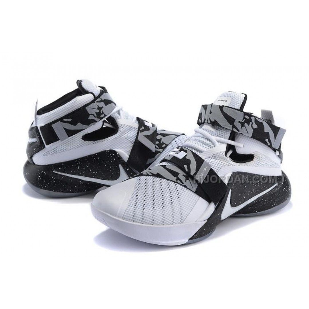 8252d8a2cd2c Nike LeBron Soldier 9 Oreo in 2019