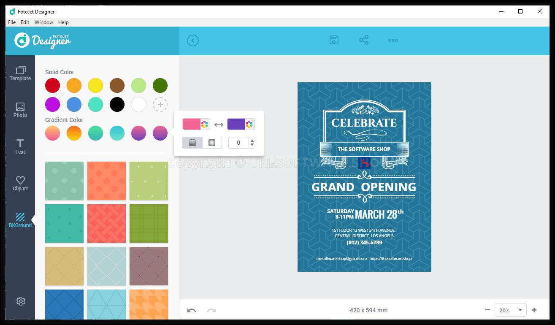 FotoJet Designer (PC) Review & Free Activation Key Giveaway