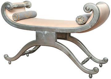 Vintage Dorothy Draper bench