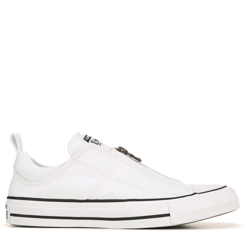 Converse Women's Chuck Taylor All Star Madison Zip Sneakers (White/Black)