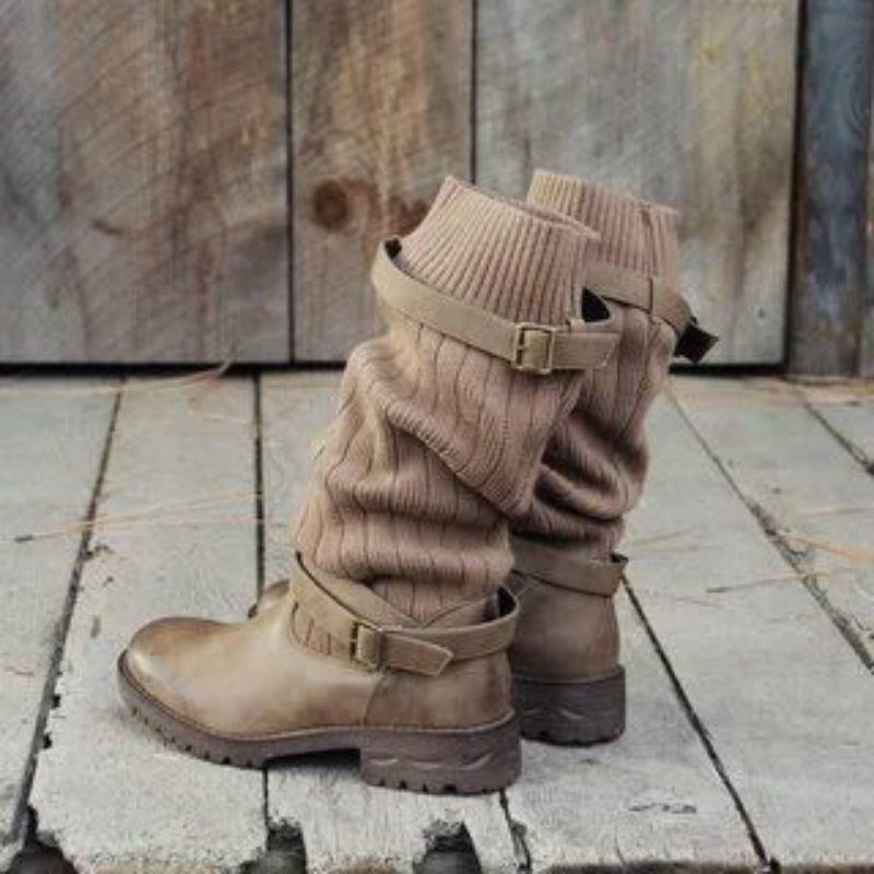 Details about  /Women Winter Snow Warm Boots Fur Trim Comfy Casual Mid Calf Tassels Zipper Shoes