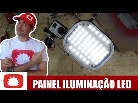 Como fazer Painel de led compacto | Na oficina S02E39