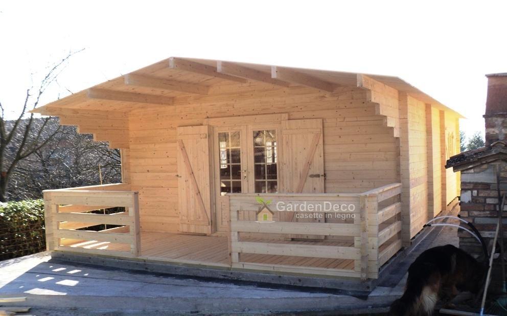 Photo of Bungalow in legno prefabbricato modello tipo-2 | Gardendeco