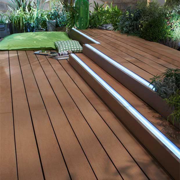 Carrelage, lames et caillebotis  des sols pour une terrasse design