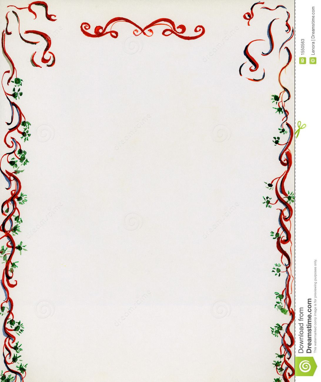 Christmas Letterhead Templates For Word