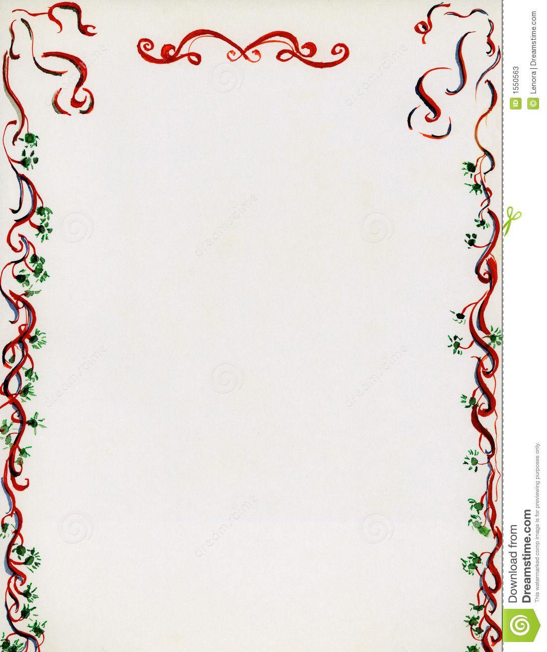 christmas letterhead templates for word – Christmas Template for Word