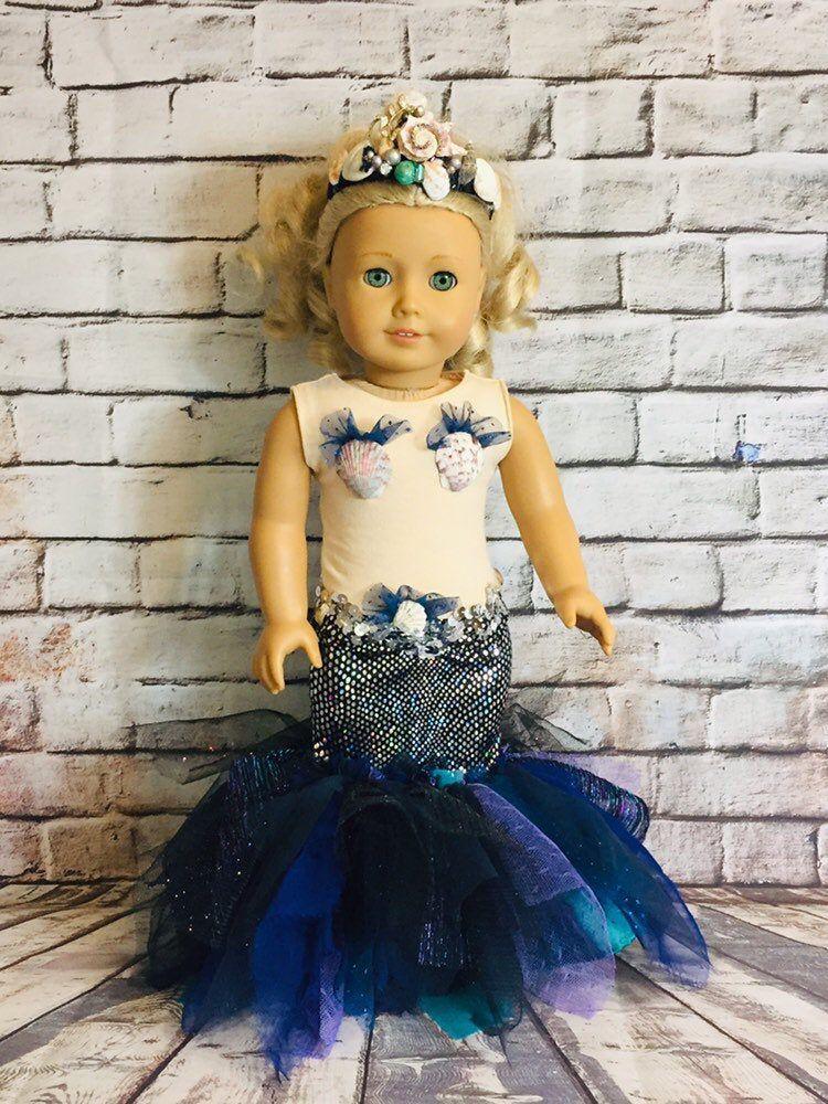 American girl custom shimmering siren american girl