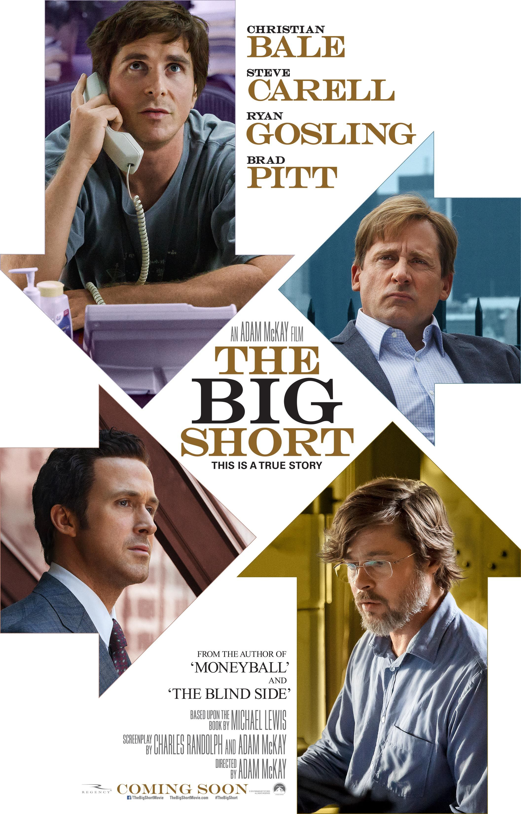 The Big Short gets a poster and a featurette. See them here