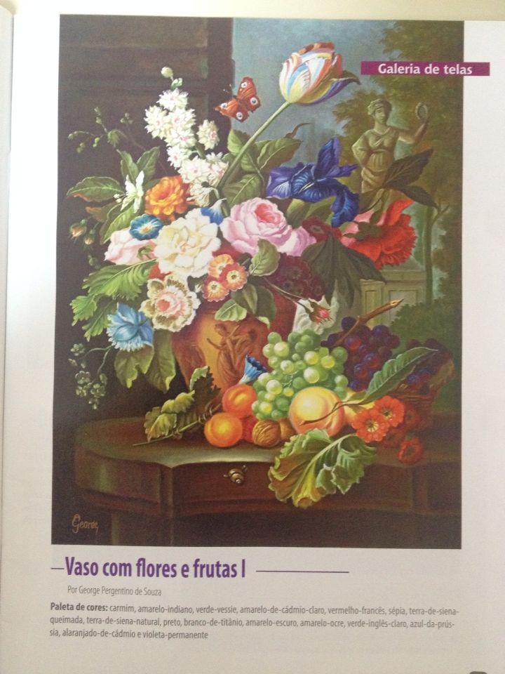 Flores e frutas