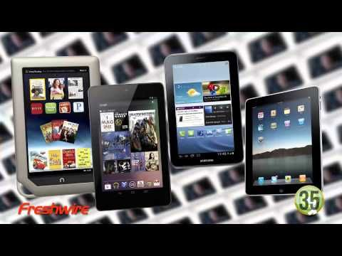 60 Seconds of Social Media - Episode 32, September 14, 2012: Is Amazon's new Kindle Fire HD an iPad killer? We'll look at e-books and tablets, plus we'll introduce you to an Icelandic company that wants to clean up your cloud storage.