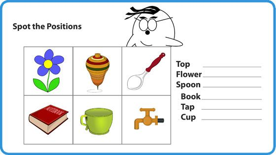 Relative positions Worksheet - Mocomi for Kids | Learn math, Math ...