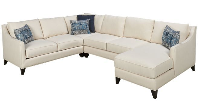 Jonathan Louis Margaret 4 Piece Sectional Jordan S Furniture Cabin Living Room Sectional Sofa Styling