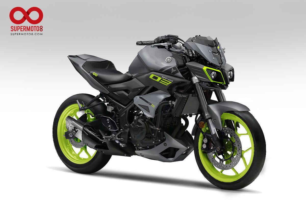 Yamaha Mt 03 變身mt 10 紙上改車 Carros E Motos Motos Esportivas Motos