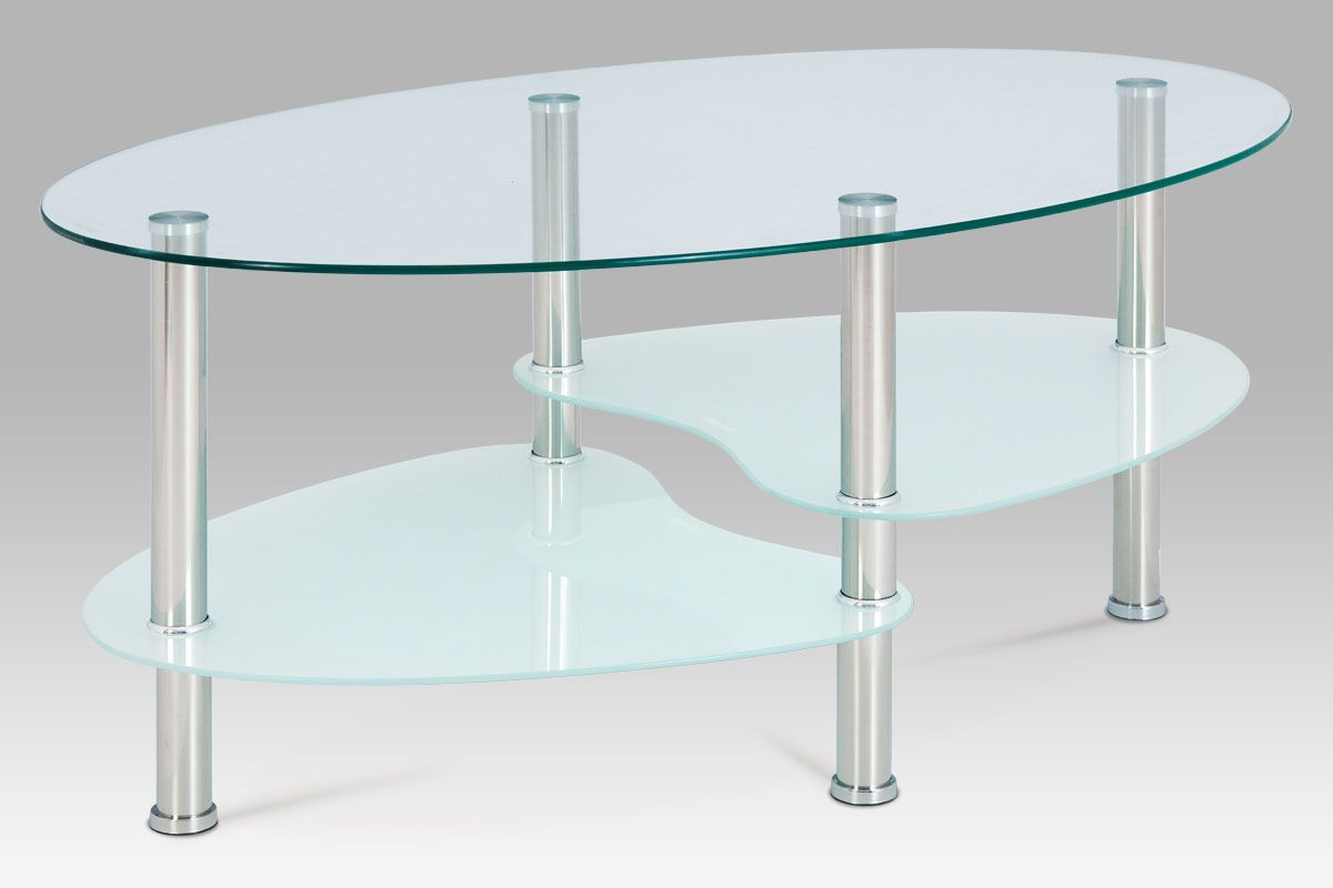 Konferencni Stolek Cire Sklo Mlecne Sklo Lesteny Nerez Beautifulhome Cz Oval Coffee Tables Coffee Table Oval Glass Coffee Table [ 800 x 1200 Pixel ]
