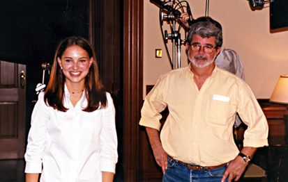 With George Lucas