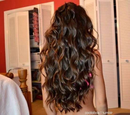 perfect hair. If my hair looked like this every morning, I'd never have to fix it! Love